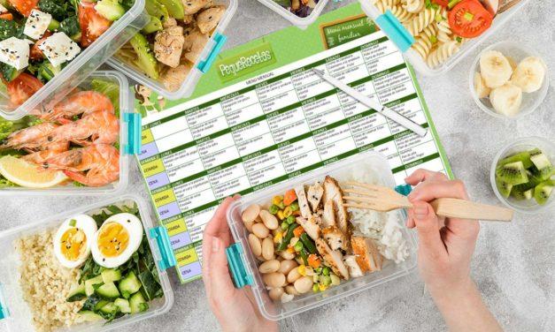 'Batch Cooking': planificando una alimentación saludable para toda la semana