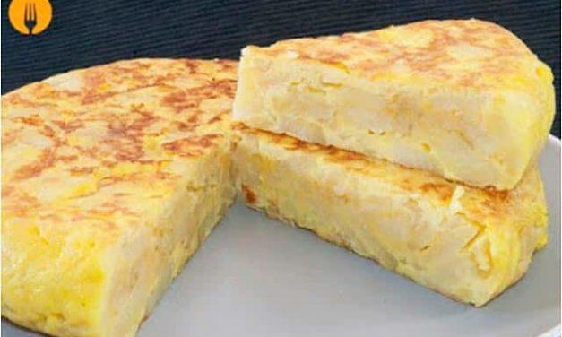 Tortilla de patata, un alimento completo, para todos los gustos